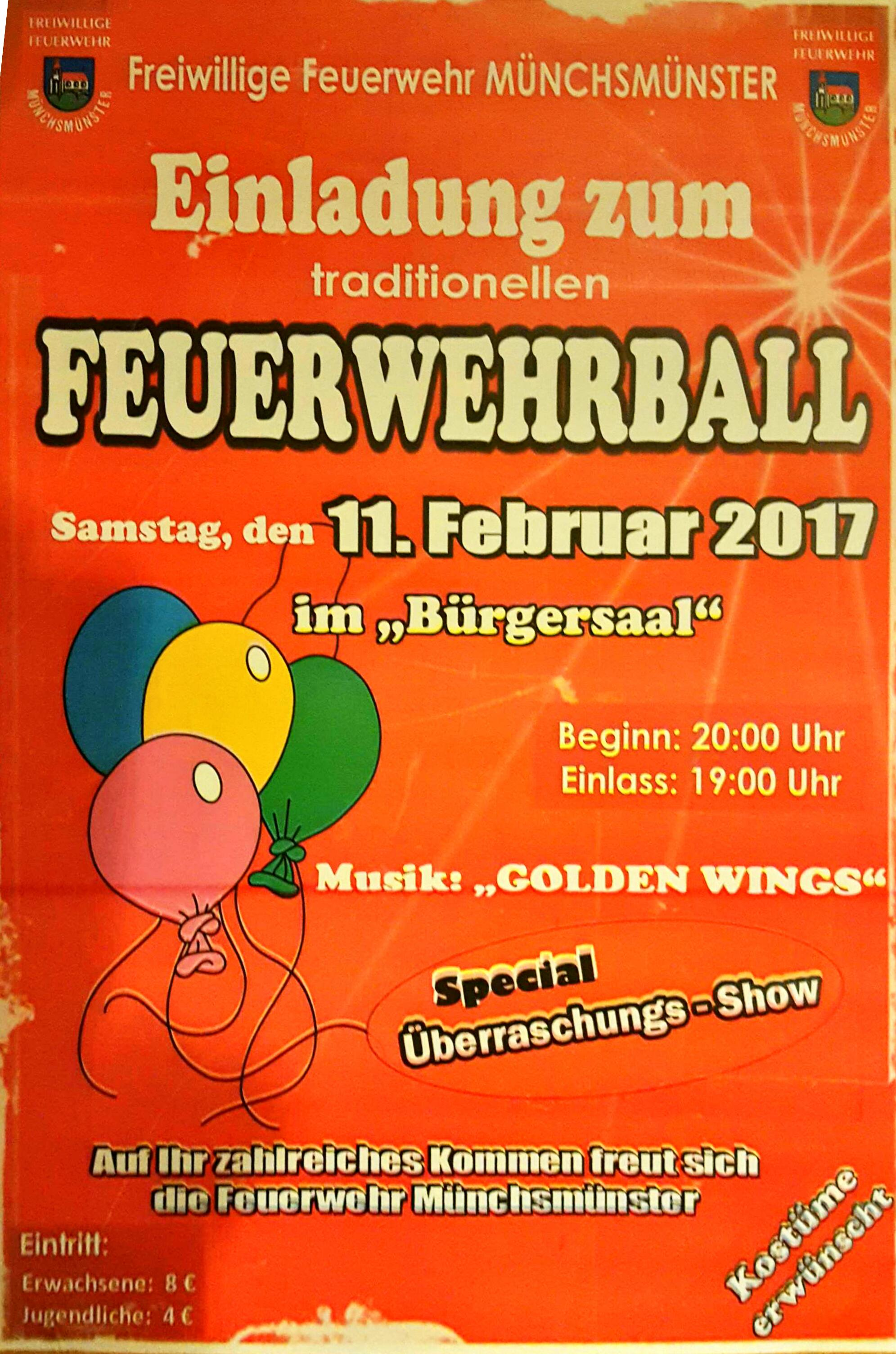 Plakat FFW Ball 2017